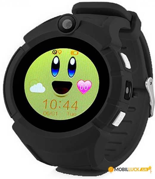 Смарт-часы Uwatch GW600 Kid smart watch Black