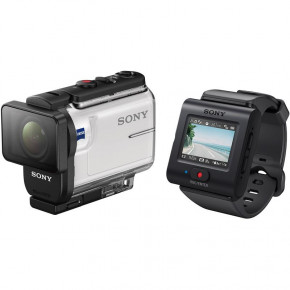 Экшн-камера Sony HDR-AS300 c пультом RM-LVR3 (HDRAS300R.E35)