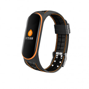 Ремешок BeCover Lattice Style Xiaomi Mi Smart Band 5 Orange (705164)