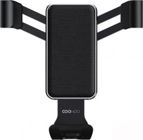 Держатель автомобильный Xiaomi CooWoo T200 Gravity Phone Holder Elegant Black