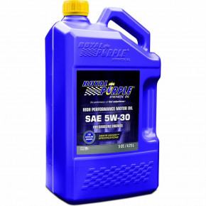 Моторное автомасло Royal Purple API 5w-30 4.73л /5 кварт / Royal Purple API motor oil 5W-30 5qt (51530)