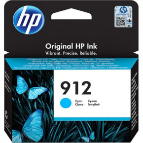 Картридж HP 912 Cyan Original Ink Cartridge (3YL77AE)