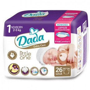 Подгузники Dada Little One 1 Newborn 2-5 кг 26 шт 937981