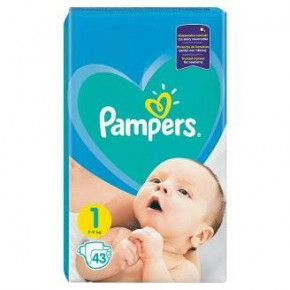 Подгузники Pampers Active Baby 1 (2-5 кг), 43шт 264491