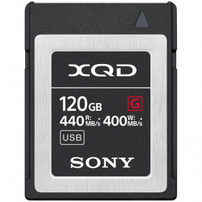 Карта памяти Sony XQD 120GB G Series Memory Card (QD-G120F)