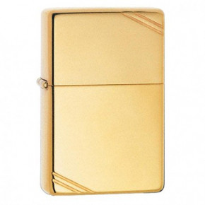 Зажигалка Zippo Replica 1937 Vintage w/Slashes High Polish Brass Zp270 (21686)