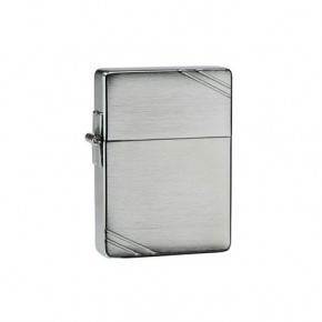 Зажигалка Zippo Replica Vintage Brushed Chrome with Slashes Zp1935 (21681)