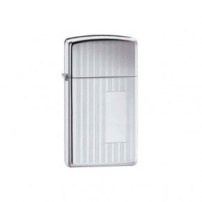 Зажигалка Zippo Slim Ribbon High Polish Chrome Zp1615 (21677)