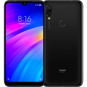 Смартфон Xiaomi Redmi 7 2/16Gb Black *EU