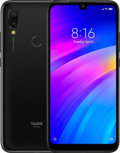 Смартфон Xiaomi Redmi 7 3/64GB Eclipse Black *UA 2