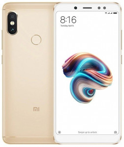 Смартфон Xiaomi Redmi Note 5 3/32Gb Gold *CN
