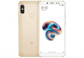 Смартфон Xiaomi Redmi Note 5 3/32Gb Gold *CN 3