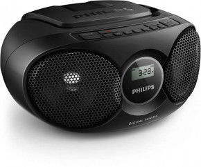Магнитола Philips AZ215B Black 3