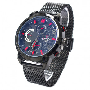 Часы Naviforce 9068BKR Black-Red