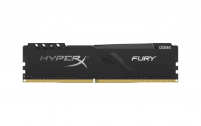 Модули памяти Kingston DDR4 8GB/2400 HyperX Fury Black (HX424C15FB3/8)