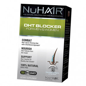 Витамины Natrol DHT Blocker 60таб (36358047)