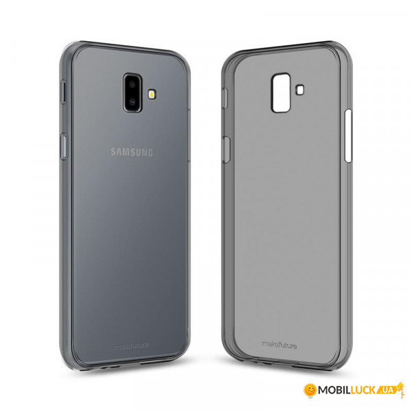 Чехол-накладка MakeFuture Air Samsung J6+ (2018) SM-J610 Black (MCA-SJ610BK)