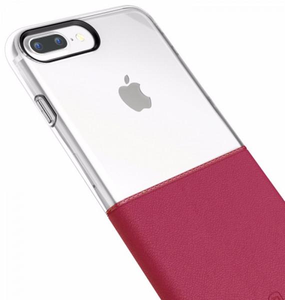 ... Фотография Чехол Baseus Half to Half Case iPhone 7 Plus Wine Red (1) ...