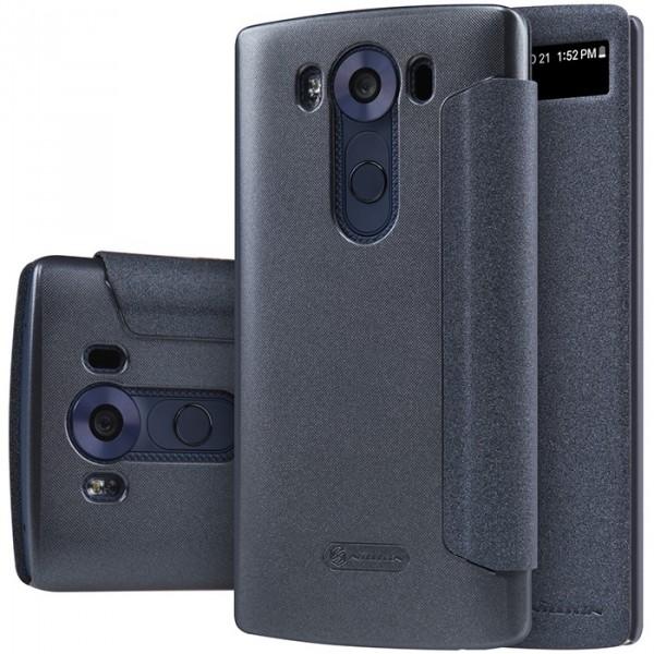 ... Фотография Чехол Nillkin для LG V10 - Spark series Black (3) ...