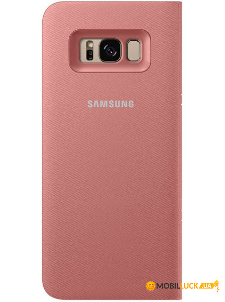 pick up 77a72 dedbc Чехол Samsung EF-NG955 LED View Cover Galaxy S8 Plus Pink