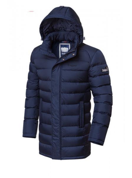 Длинная куртка Braggart 1572 52 (XL) темно-синий