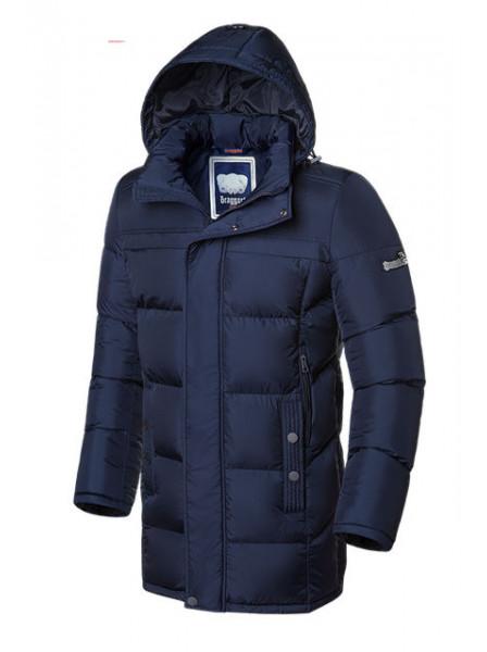 Длинная куртка Braggart 2526 46 (S) темно-синий