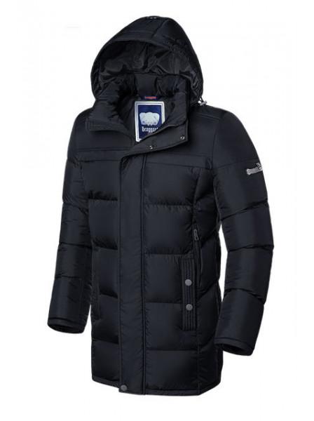 Длинная куртка Braggart 2526 48 (M) черный