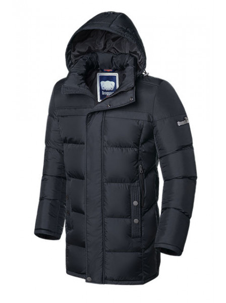 Длинная куртка Braggart 2526 48 (M) графит