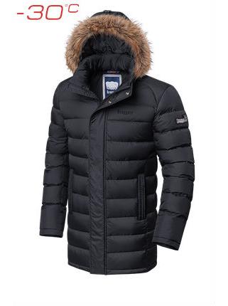 Длинная куртка Braggart 3172 46 (S) графит