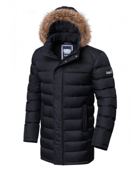 Длинная куртка Braggart 3172 52 (XL) черный