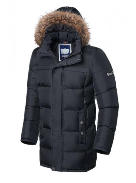 Длинная куртка Braggart 4126 48 (M) графит