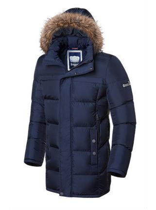 Длинная куртка Braggart 4126 54 (XXL) темно-синий