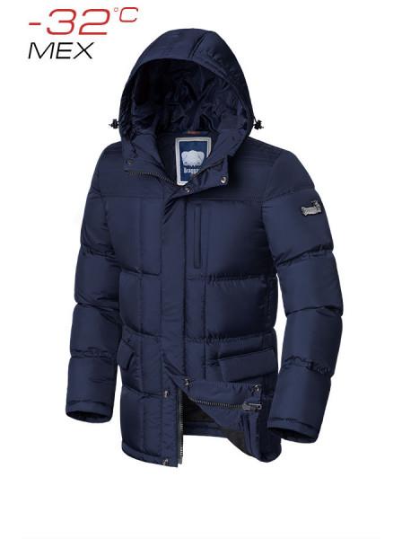 Куртка на меху Braggart 4909 52 (XL) темно-синий