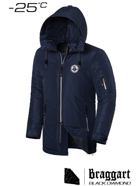 Куртка Braggart 9071 48 (M) темно-синий
