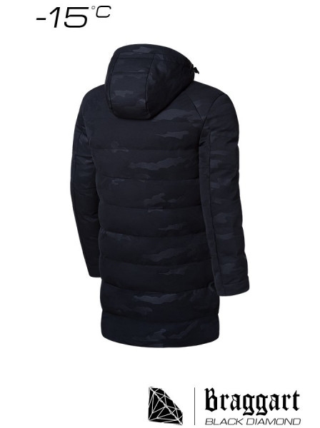 Парка Braggart Black Diamond 9098 60 (5XL) черный
