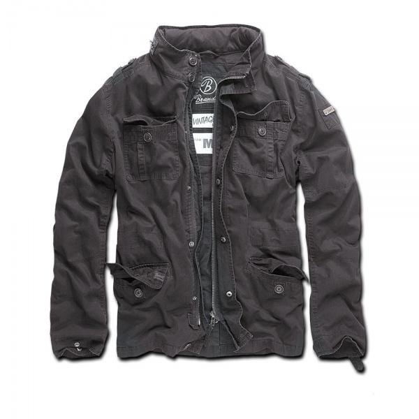 Куртка Brandit Britannia Jacket Black (XXXL)