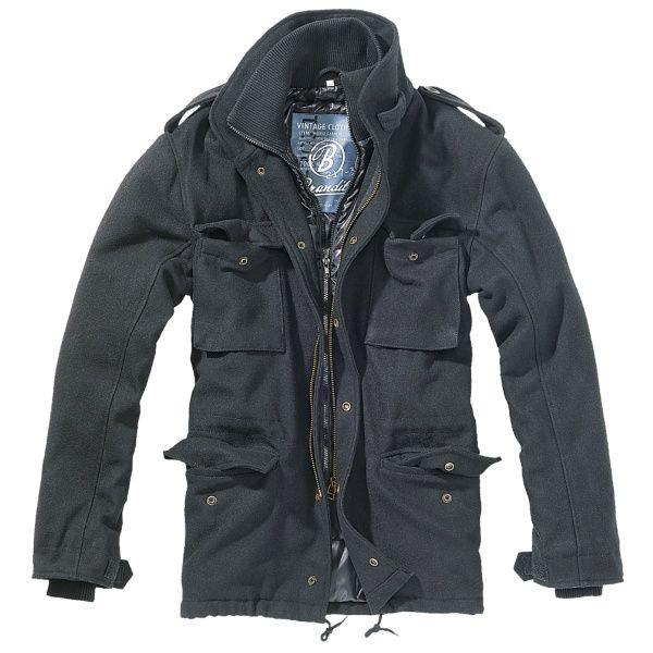 Куртка Brandit M65VoyagerWoolJacket XXLBlack (3147.2)