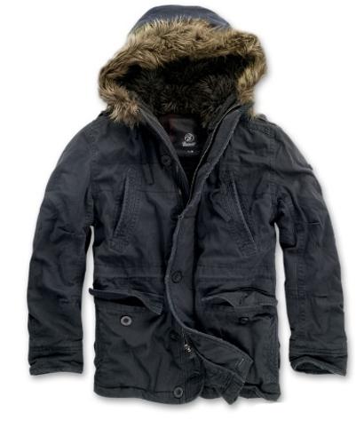 Куртка Brandit Vintage Explorer Black (M)