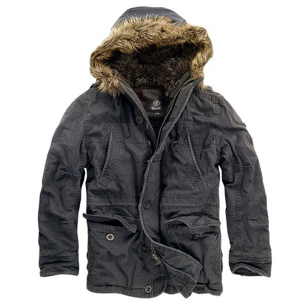 Куртка Brandit Vintage Explorer S Black (3120.2)