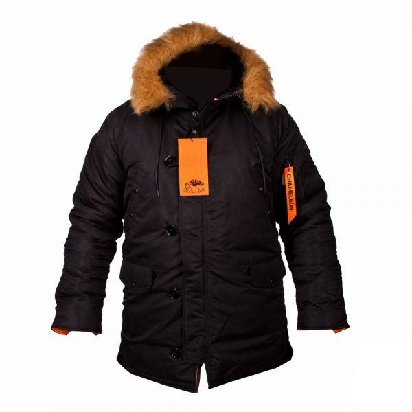 Куртка Chameleon Аляска Classic N-3B 0705-04 XXL Black