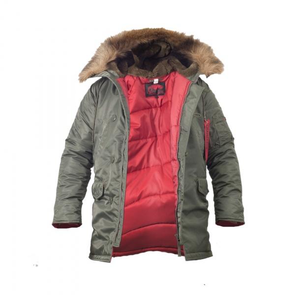 Куртка Chameleon Аляска N-3B Slim 0712-01 52-54 Olive