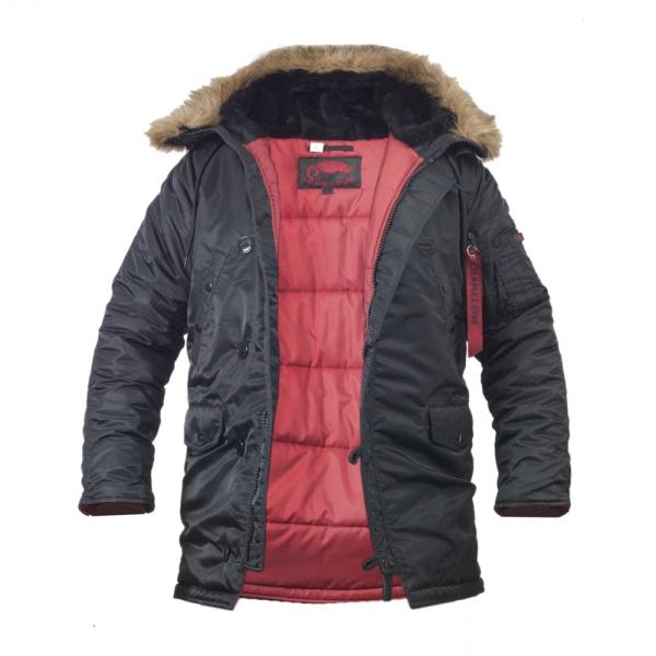 Куртка Chameleon Аляска N-3B Slim 0712-04 56-58 Black