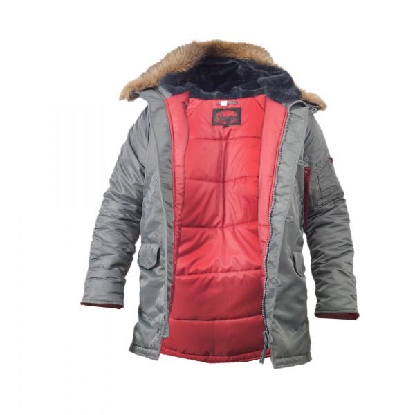 Куртка Chameleon Аляска N-3B Slim 0712-08 48-50 Gray
