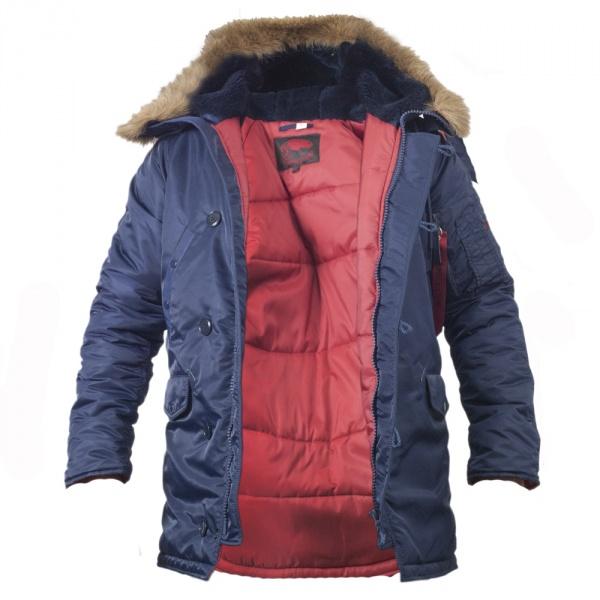 Куртка Chameleon Аляска N-3B Slim 0712-09 S Blue
