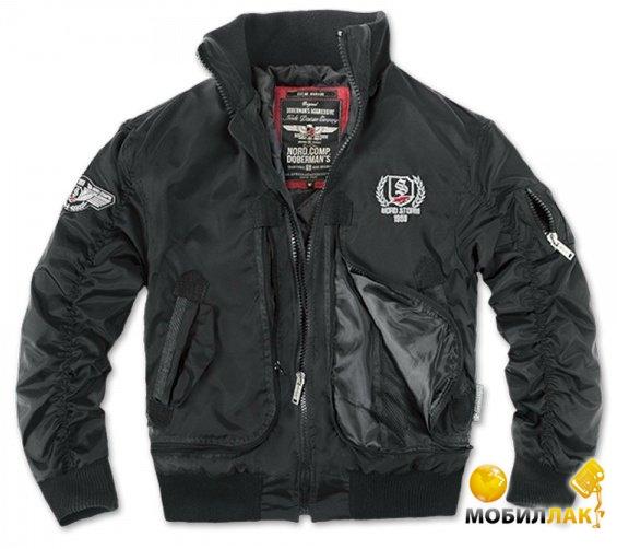 Куртка с капюшоном Dobermans Aggressive Nord Storm v2 Black р. XXL