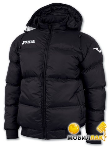 Куртка зимняя Joma Alaska 8001.12.10 черная р.14