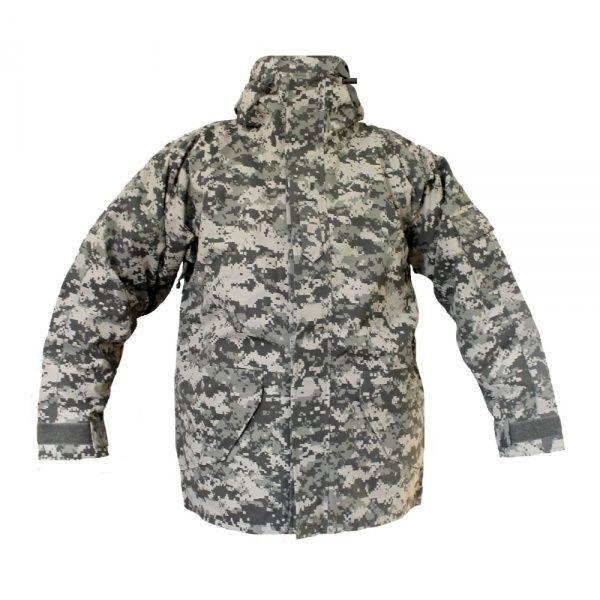 Куртка Mil-Tec ветро-влагозащитная с флисовой подстежкой XL ACU (10615070)