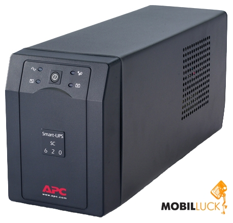 Источник бесперебойного питания APC Smart-UPS SC 620VA (SC620I)