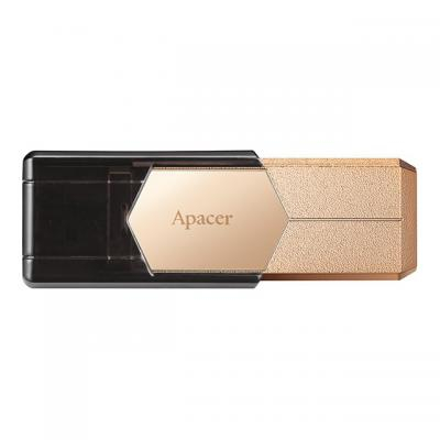 Флеш накопитель Apacer 128GB AH650 Gold USB 3.0 (AP128GAH650C-1)