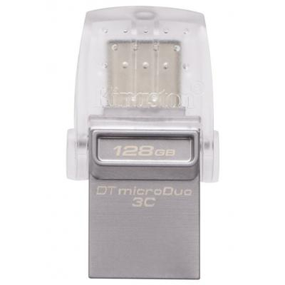 Флешка USB 3.1/Type C Kingston 128GB DT MicroDuo 3C (DTDUO3C/128GB)